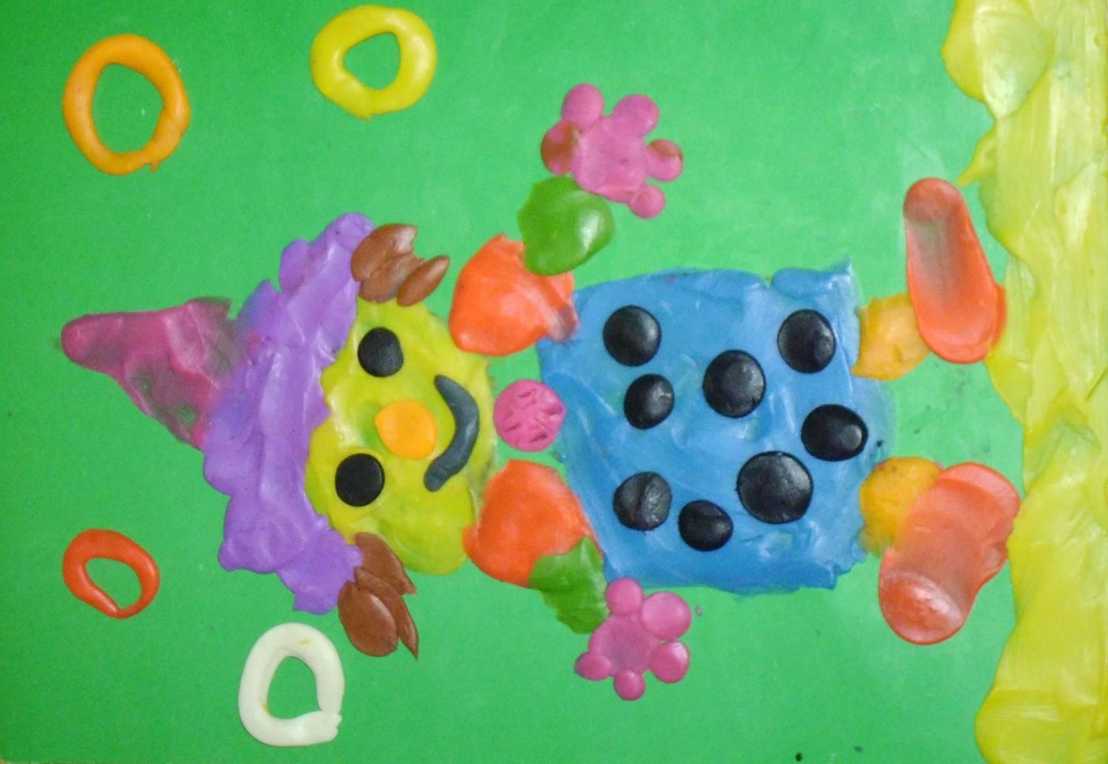 Поэтапная лепка для детей. Поделки из пластилина: лепим еду, животных 89